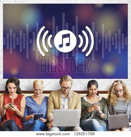 Audio Music Media Entertainment Multimedia Melody Concept