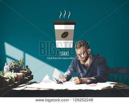 Coffee Cup Hot Morning Heat Concept