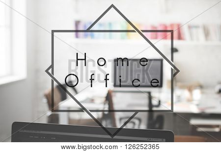 Home Office Workplace Workspace Business Concept