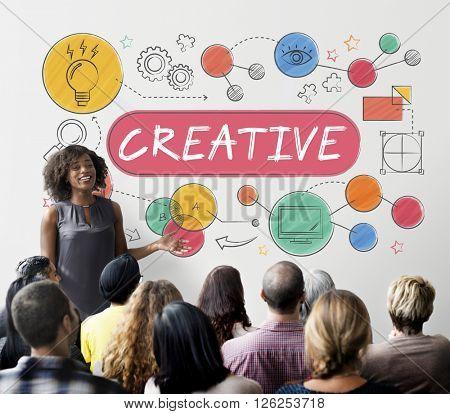 Creative Ideas Design Inspiration Imagination Concept