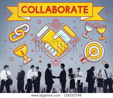 Collaboration Solution Partnership Cooperation Concept