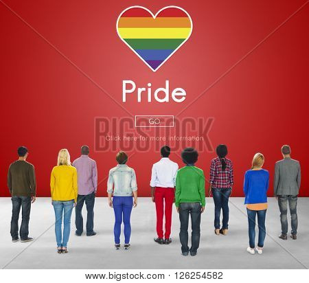 Pride Rights Transexual Transgender Equality Gender Concept