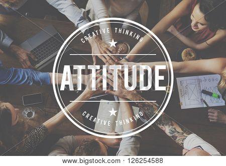 Attitude Positive Thinking Mind Feeling Concept