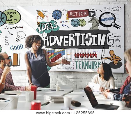 Advertising Campaign Promotion Branding Concept