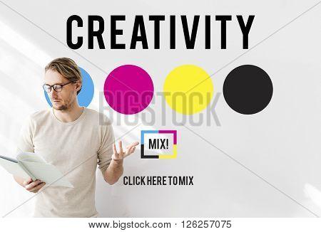 Creativity Aspiration Inspiration Inspire Skills Concept