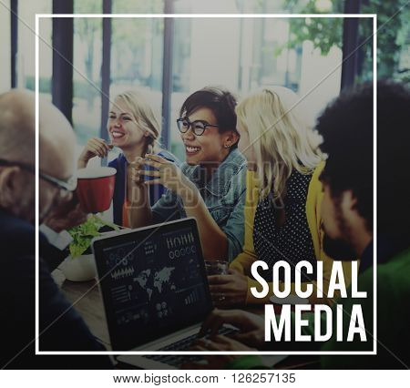 Social Media Networking Connection Communication Concept