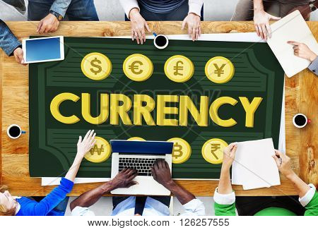Currency Accounting Economy Icon Banking Concept