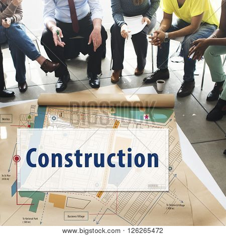Construction Building Architecture Engineering Concept