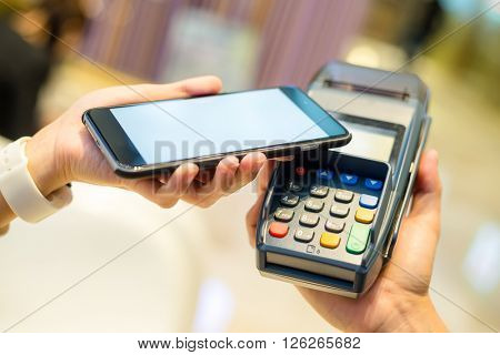 Mobile phone pay with NFC technology