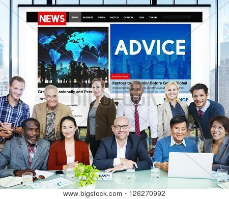 Advice Consultant Suggestion Support Advisor Concept