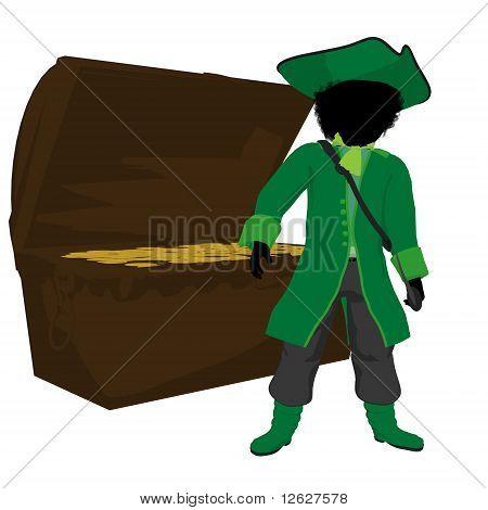 African American Teen Pirate