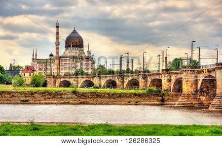 Yenidze Building designed as a cigarette factory in 1909 - Dresden, Saxony, Germany