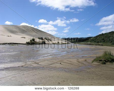 Te Paki Quicksand Stream
