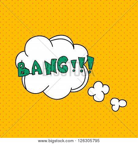 Comics Pop Art Style Blank Layout Template With Clouds Beams. Concept Vector For Web And Mobile Appl