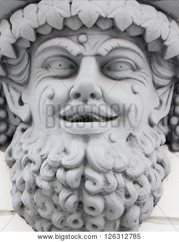 Dionysus (Greek - Dyonys Dionysus Lat. Bacchus). He is the younger god on Olympus. Responsible for the fertility of vegetation wine Winemaking inspiration joy and celebration
