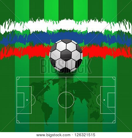 Abstract Football Background Eps 10 Vector Illustration