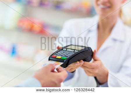 Paying in the Pharmacy