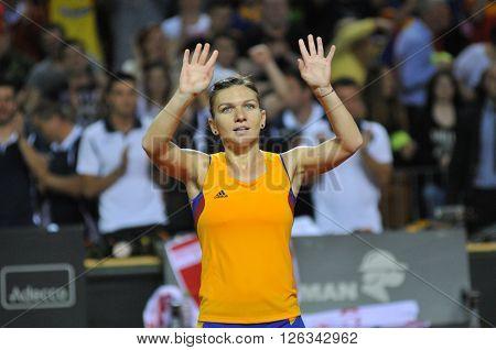 Woman Tennis Player Simona Halep