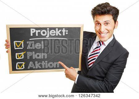 German project plan