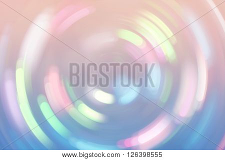 Bokeh Lights Background Retro Colorful Whirl 3