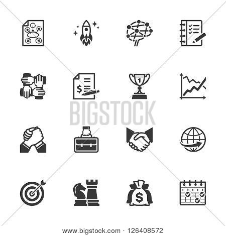 Business & Management Icons - Set 4
