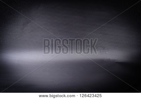 Abstract background carbon fiber black and dark