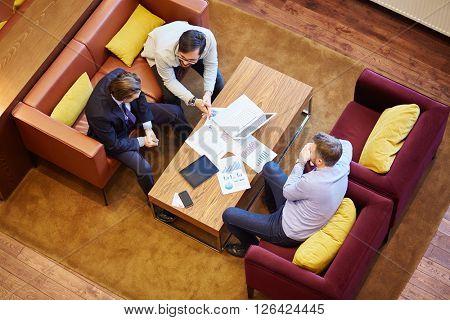 Contemporary businessmen