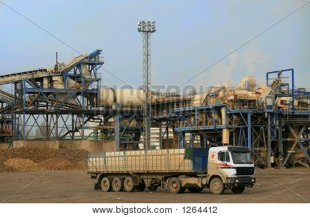 Truck In Sugar Refinery