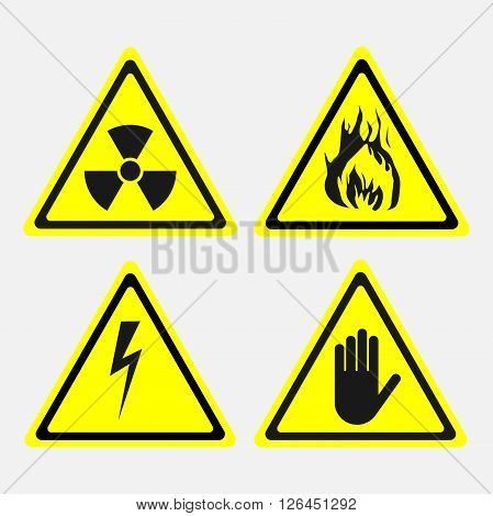 labels, set, biological threats, radiation, stop hend