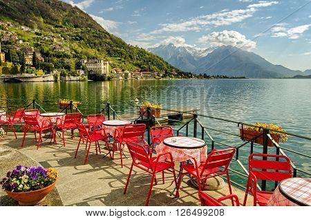 Lago di Como (northern Italy) scenic view
