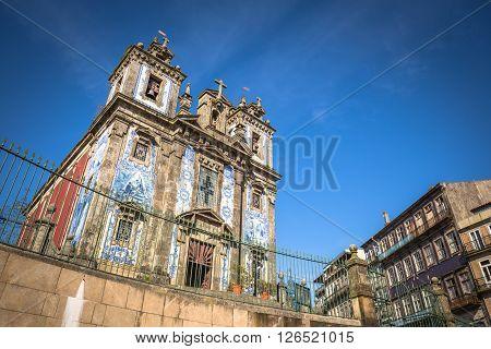 Church of Saint Ildefonso (Igreja de Santo Ildefonso) Porto Portugal