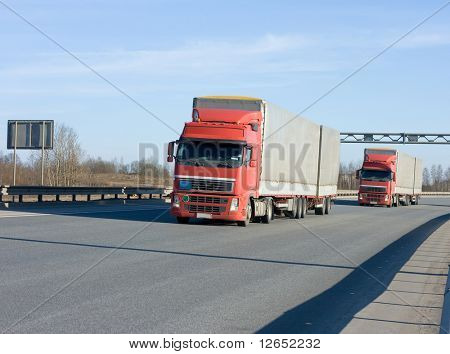 """two trucks  - See similar images of this """"Business vehicles"""" series in my portfolio"""