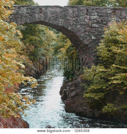 Old Bridge Over Water