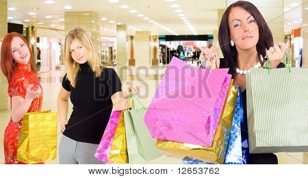 "that's what we've bought -  of  ""Gorgeous shopping women"" series in my portfolio"