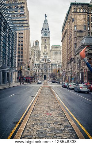 Philadelphia's historic City Hall building