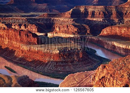 Dead Horse Point, Colorado river, Utah, USA