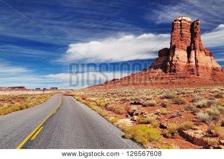 American southwest landscape, Hite, Utah