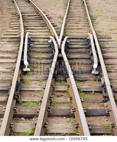trains go separate ways