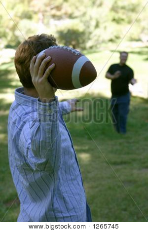 Throwing The Pigskin