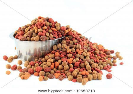 Bowl Overflowing With Dogfood