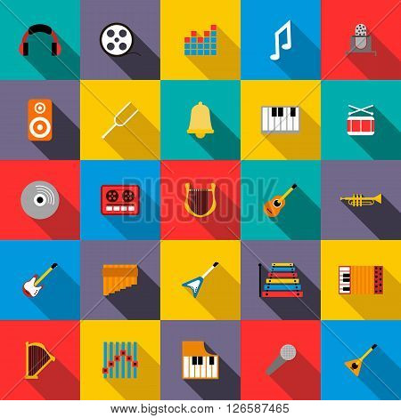 Music Icons set use for any design