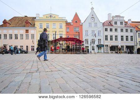 Old town of Tallin, Estonia poster