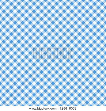blue table cloth seamless pattern vector illustration