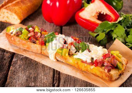 Big Baguette Sandwich