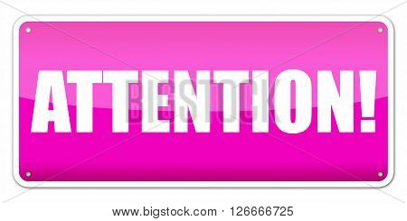 Pink Card Attention