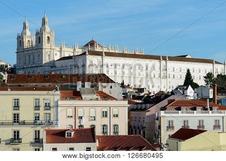 The Church of Santa Engracia is a 17th-century monument in Lisbon Portugal.
