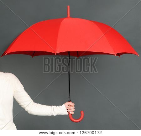 red umbrella