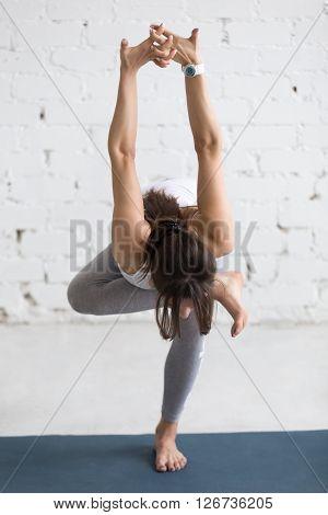 Yoga Indoors: Standing Hip Opener Pose