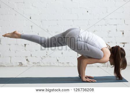 Yoga Indoors: Eka Pada Galavasana