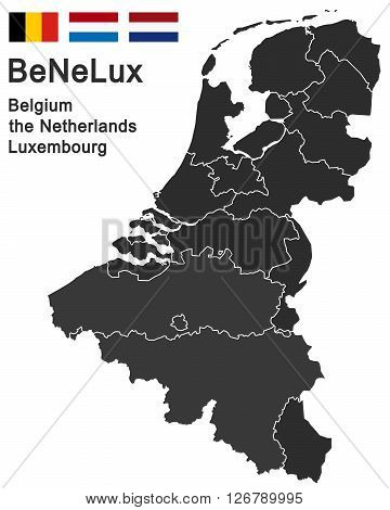 european countries belgium the netherlands luxembourg and all provinces